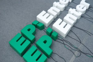Electronic signs LED  Front Lit 3D free sign up | Led epoxy resin letters signs