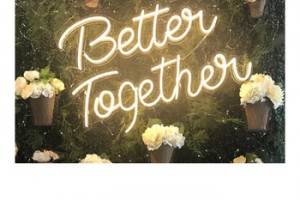 Better Together neon Manufacturer custom high quality outdoor interior led colourful neon advertising flex tube light signs
