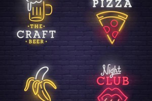 Factory direct advertising neon letters led sign acrylic signs lighted Best Quality with price
