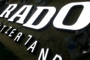 company office signs Led Acrylic Light Channel Letters Outdoor 3D Acrylic Front Lit LED Shop Sign