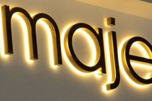 led sign board lighted letters/Front store acrylic stainless steel Letter Signs