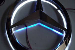 Factory price illuminated sign led metal custom 3d led car logo