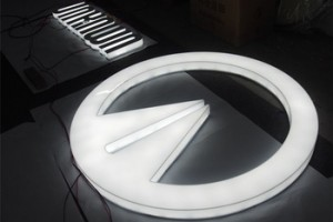 Acrylic Stainless Steel Metal Led Frontlit Backlit Channel Letter Bulb Letters Channel Letter Customized