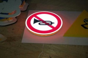custom bus stop signage led traffic exit open light sign board ACRYLIC BOX