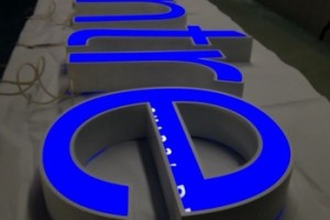 Outdoor Advertising LED Sign Face Illuminated Logo Channel Letters