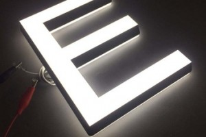 3D Lighting / Acrylic Mini LED Letter Sign / Acrylic Back Lighting Letters