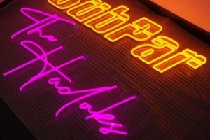 Lighted Outdoor Acrylic Brightly Colored Neon Letters  Led Sign For Advertising,Business And More