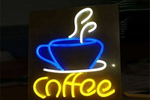 Customized Professional Advertising Letter Acrylic Led Neon Sign With Different Model