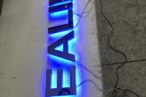 Customized Professional acrylic sign sheet for led light 3d channel letter