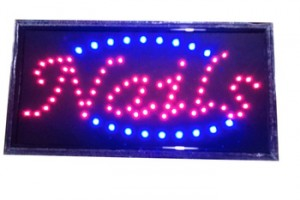 LED Open Sign Advertising Board Electric Lighted Display Flashing or Steady Mode- Lighting Up for Holiday, Business, Window