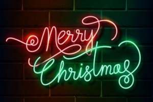 Hot Selling Outdoor Custom Led Neon Lighting Sign Lights Letters Led Merry Christmas Neon Lighted Signs