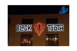 Large and Oversized led sign custom for building