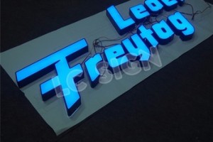 New arrival  led letter sign outdoor letters store sign outdoor acrylic for office signage