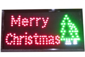 Factory directly Led sign board  Merry Christmas Advertisement Board for Store, Bar, Hotel, Cafe