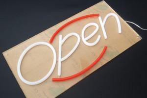 High Brightness Well Preserved Used led neon open closed sign
