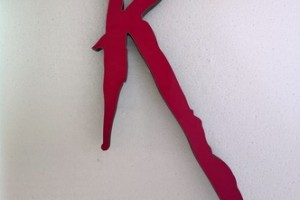 rose red custom made led signs laser cut acrylic letter