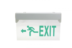 LE297 Rechargeable emergency LED lamp exit sign