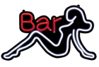 bar shop beer shape led neon sign
