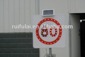 Catch The eye Solar Speed Limit Sign