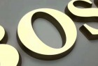 Wholesale Mirror 3D Signage Advertising Display Acrylic Refillable Letters